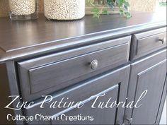 Beautiful refinished furniture w/ tutorial!