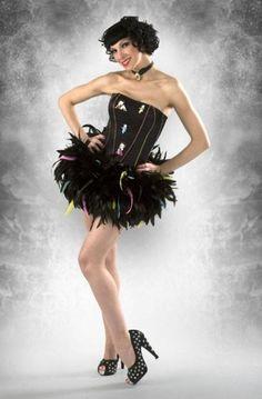 Vestido de fiesta inspirado en Betty Boop - Prom Dress inspired by Betty Boop