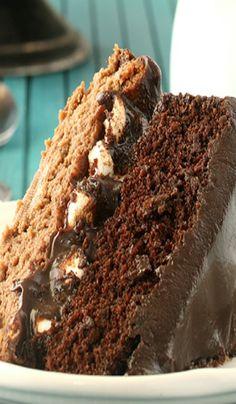 """ Just Deserts"" Sweet Treats You Deserve| Serafini Amelia| Chocolate Caramel Cheesecake Cake"