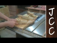 051 Jointing small stock with the table saw