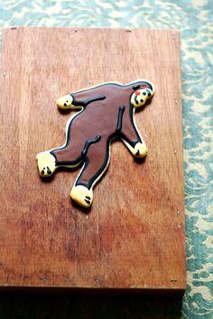 Big foot cookies....  SugarLaneBakeShop on etsy...