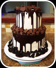 Chocolate Heaven Birthday Cake! Bake Your Day, LLC - Alexandria, LA www.facebook.com/bakeyourdayllc