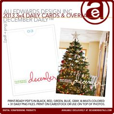 December Daily™ | Ali Edwards