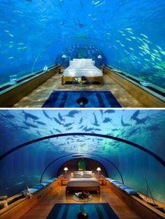 Conrad Maldives Rangali Island owned by Hilton Hotels