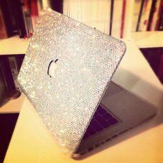 Swarovski case for Mac Book Pro. - want