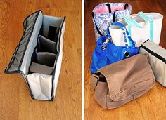 camera-bag-insert via @Amy Johnson / She Wears Many Hats