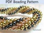 Free Herringbone Bead Patterns - http://www.guidetobeadwork.com/wp/2014/01/free-herringbone-bead-patterns-10/