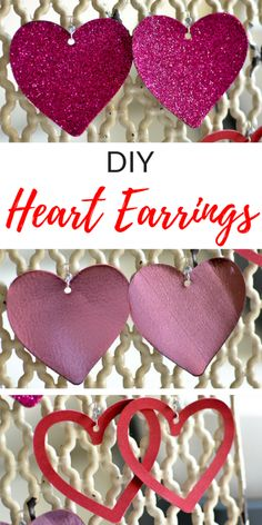 Make these cute earr