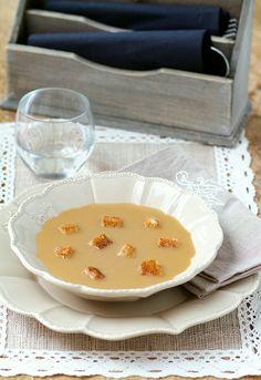 Receta 143: Sopa de harina tostada » 1080 Fotos de cocina