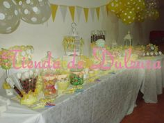 Mesa dulce para Comunion
