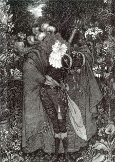 A Nightpiece - Aubrey Beardsley - WikiPaintings.org  etc.
