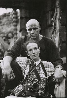 Mary Ellen Mark - Marlon Brando, on the set of Apocalypse Now,  Pagsanjan, Philippines, 1976 (photo by Stefani Kong Uhler)