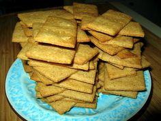 Homemade graham cracker tutorial.
