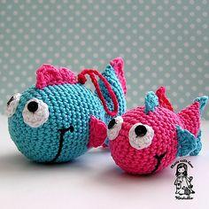 Ravelry: Just a Fish pattern by Vendula Maderska $5