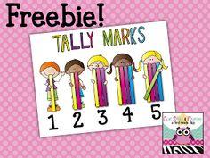 Tally Mark Freebie Poster!