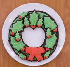 DIY: How to make a Christmas-Cookie Wreath