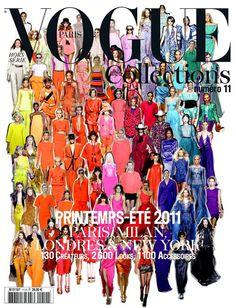 #Neon Vogue Cover