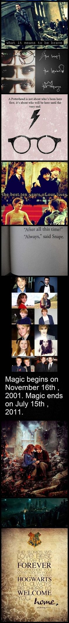 Harry Potter will always have my heart <3