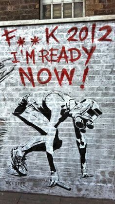 • LET THE STREET GAMES BEGIN •    ◦ F**k 2012 I'm Ready Now!l ◦  artist: CODE FC