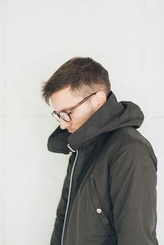 specs + parka.