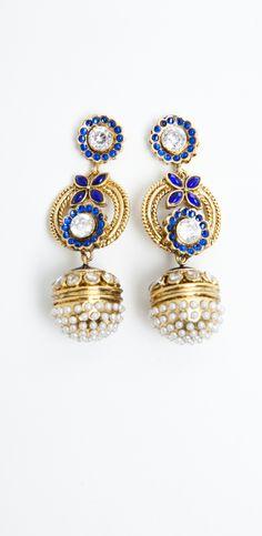 Jhumki Earrings via ILWYW.com