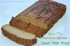 Grain-Free Autumn Spiced Sweet Potato Bread