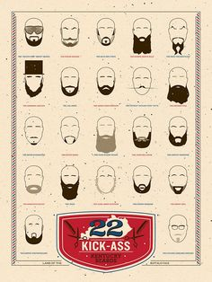 """22 Kick-Ass Kentucky Beards"""