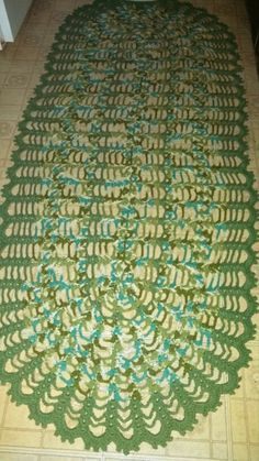 my homemade rug
