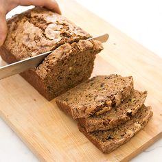 Zucchini Bread from Cooks Illustrated