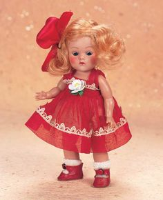 """American Ginny as """"Kay"""" by Vogue Kindergarten  Afternoon Series  - Theriault's Antique Doll Auctions"""