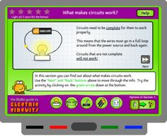 SMART BOARD - Electric circuits