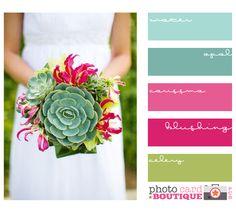 Bouquet Colour Palette