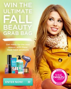 EXPIRED. Win a Fall beauty grab bag!