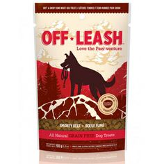 For the outdoorsy pet owner, these grain free off-leash treats will leave your pup wanting more. With its tasteful aroma, this smokey beef treat can join you and your dog on long hikes!  With its soft and chewy texture, this treat will satisfy your dog's taste buds. Conveniently packaged in a small pouch, it will be the perfect buddy for any outdoor excursion! These are corn, soy, wheat and grain free! www.fortailsonly.com/annsavesus