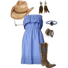 LIttle Bit of Country, created by xmrolan on Polyvore