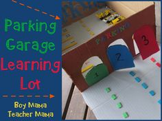 Boy Mama Teacher Mama   Parking Garage Learning Lot