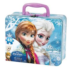 Disney Frozen Puzzle in Tin with Handle (48-Piece) Disney http://www.amazon.com/dp/B00GUNA2YK/ref=cm_sw_r_pi_dp_M1QXtb090HMB1VSZ