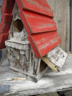 Antique Birdhouse Victorian Birdhouse Vintage
