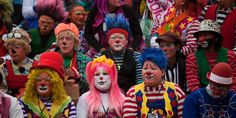 17 Stunning Photos From A Bizarre Clown Conference In Guatemala [PHOTOS]: