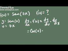 Derivada de la función seno de x (demostración)
