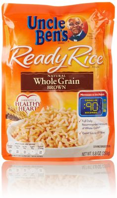 Uncle Bens Ready Rice Whole Grain Brown Rice Recipes on