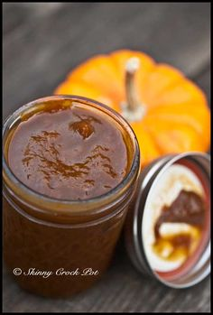 Healthy Crock Pot Pumpkin Butter