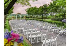 Lansdowne Resort stages more than 100 weddings per year and the Outdoor Terrace is a preferred location. #loveva