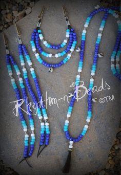 Natural horsemanship rhythm bead necklaces for horses. www.rhythm-n-beads.com www.facebook.com/rhythmbeads