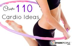 Need some fresh ideas for getting your #cardio in? We've got 110 of them! | via @SparkPeople #fitness #workout #TeamSkinnyJeans