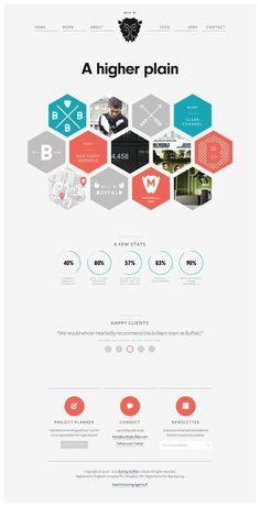 Clean + Simple website designs