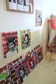 portraits fête des, brick, portrait