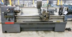 21″ X 80″ CLAUSING COLCHESTER STRAIGHT BED ENGINE LATHE / HOLE THRU 3-9/16″