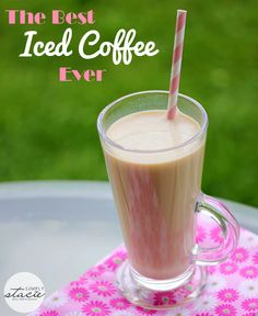 The Best Iced Coffee Ever made with a secret ingredient!