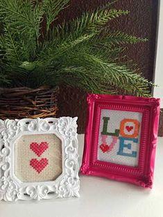 Sweet Valentine Cross-stitch